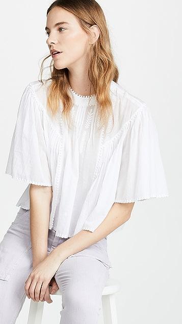 Isabel Marant Etoile Algar 女式衬衫