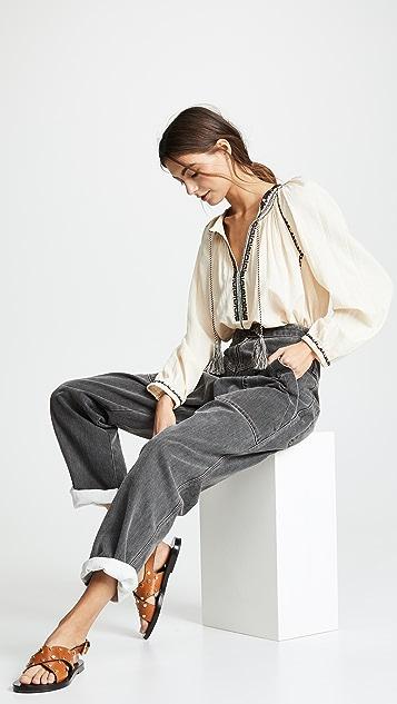 Isabel Marant Etoile Rina 女式衬衫