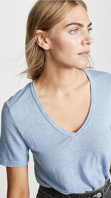 Isabel Marant Etoile Kranger 亚麻 T 恤