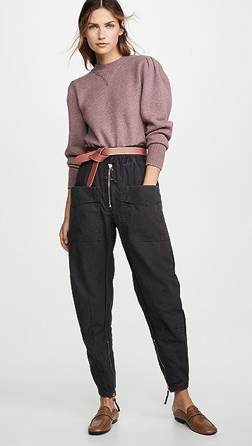 Isabel Marant Etoile Lecia 工装裤