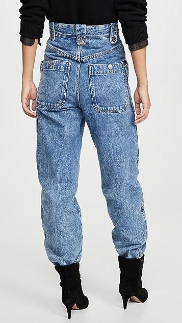 Isabel Marant Etoile Neko Cargo Jeans