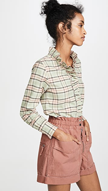 Isabel Marant Etoile Awendy Button Down