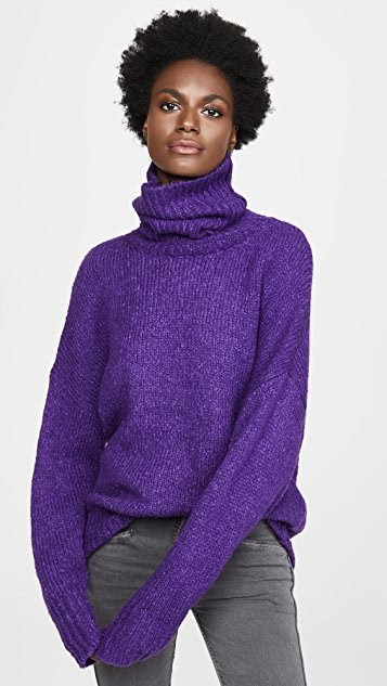 Isabel Marant Etoile Shadow Alpaca Turtleneck