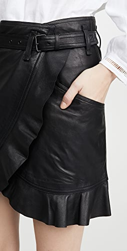 Isabel Marant Etoile - Qing Leather Skirt