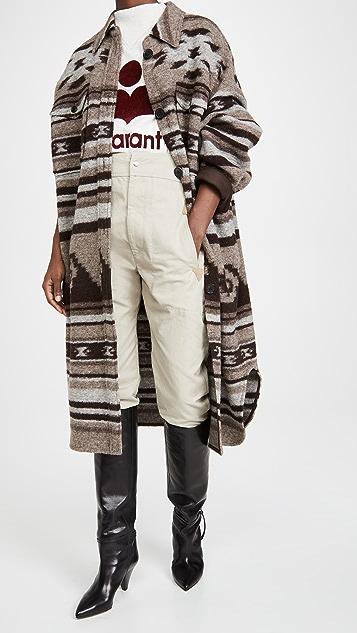 Isabel Marant Etoile Gabrion Coat