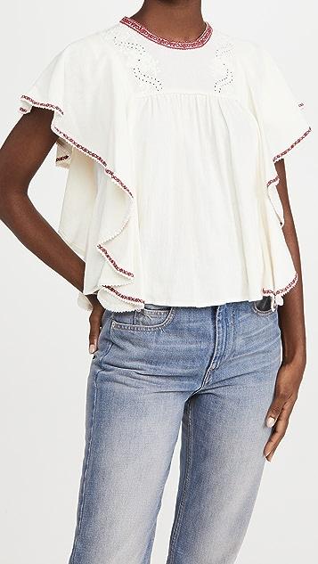 Isabel Marant Etoile Railey 女式衬衫