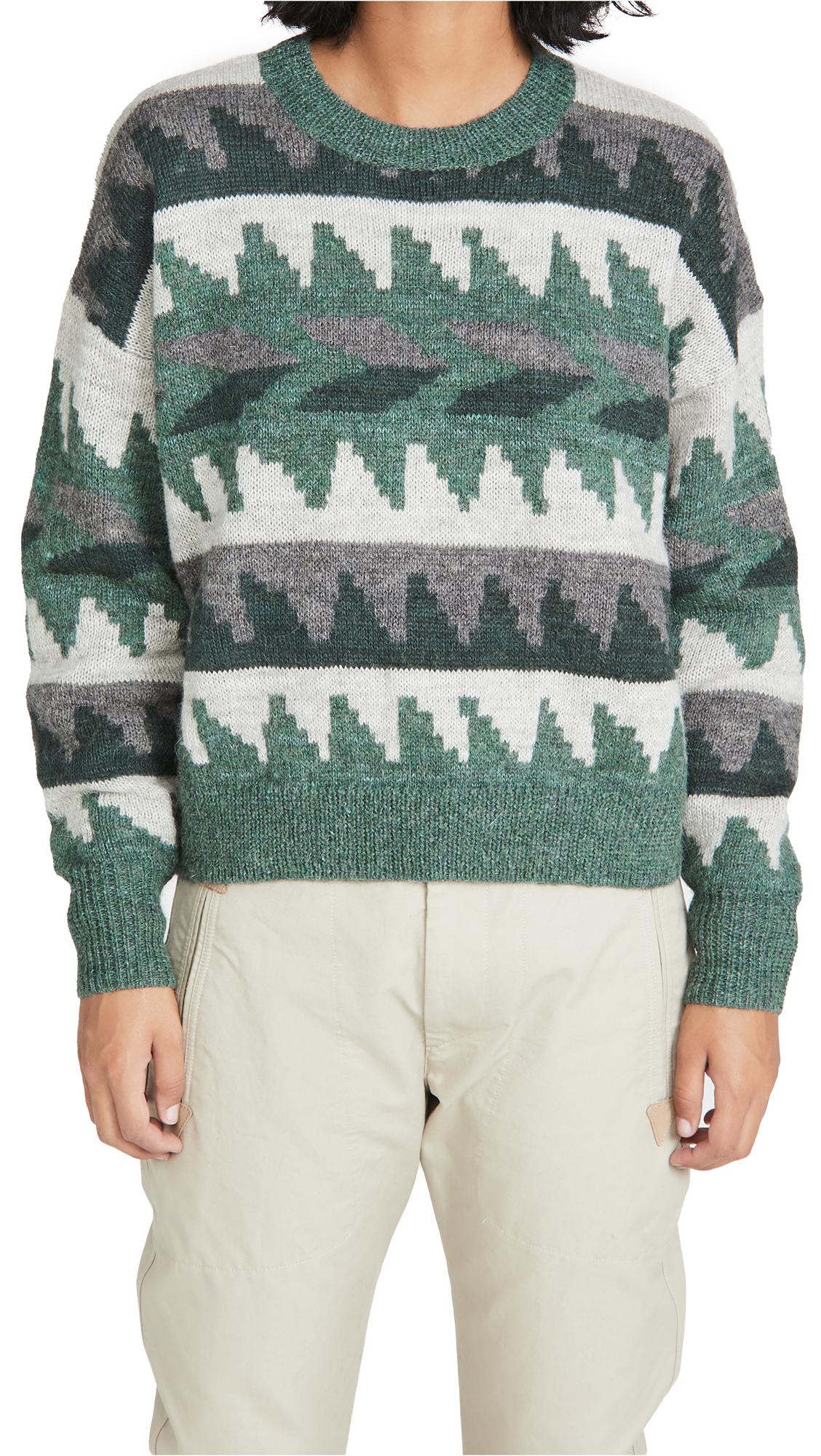 Isabel Marant Etoile Gatsy Alpaca Pullover Sweater