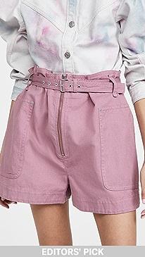 이자벨 마랑 에뚜왈 반바지 Isabel Marant Etoile Parana Shorts