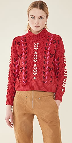 Isabel Marant Etoile - Zola Cropped Pullover