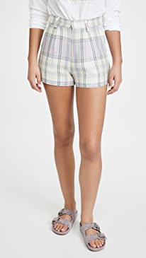 이자벨 마랑 에뚜왈 반바지 Isabel Marant Etoile Ilabot Shorts,Celadon