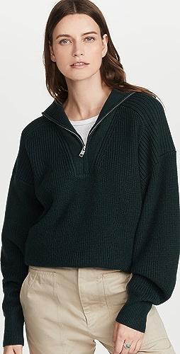 Isabel Marant Etoile - Benny Half Zip Sweater