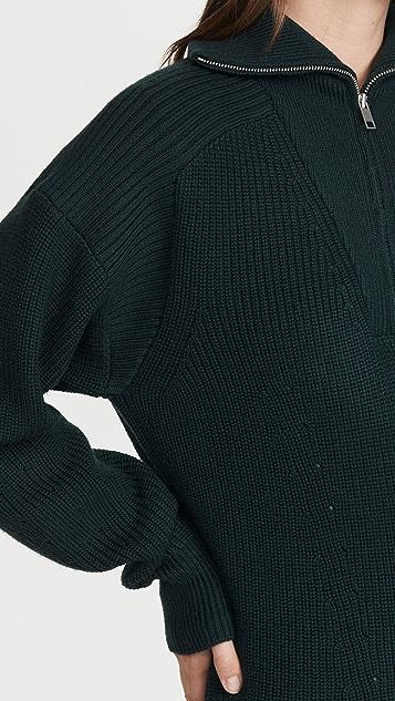 Isabel Marant Etoile Benny Half Zip Sweater
