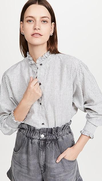 Isabel Marant Etoile Saoli 衬衫