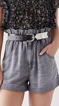 이자벨 마랑 에뚜왈 반바지 Isabel Marant Etoile Itea Shorts,Grey