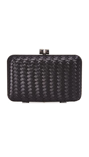 Leather Statement Clutch - NATIVE LEATHER PURSE by St. James Whitting St James Whitting IJshcG
