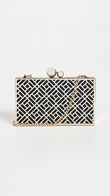Inge Christopher Anya Box Clutch