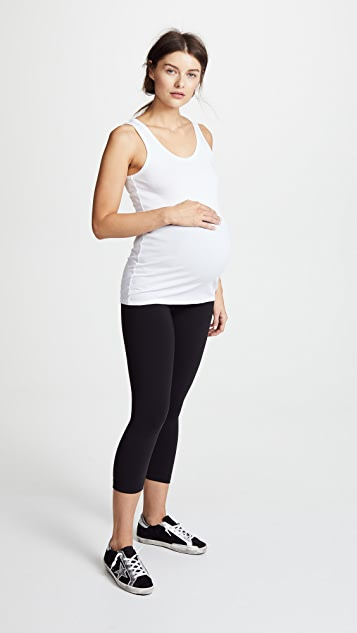 Ingrid & Isabel Scoop Neck Maternity Tank