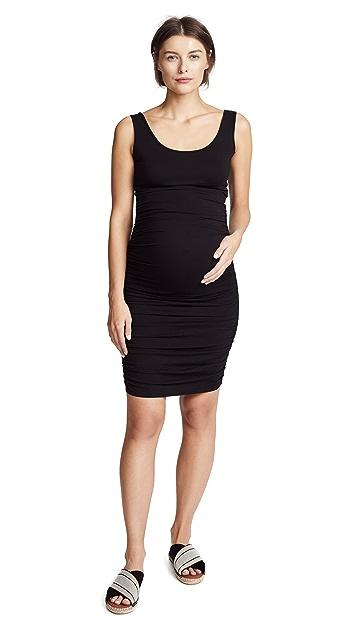 Ingrid & Isabel Shirred Maternity Tank Dress