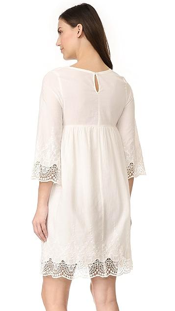Ingrid & Isabel Lace Trim Belle Sleeve Dress
