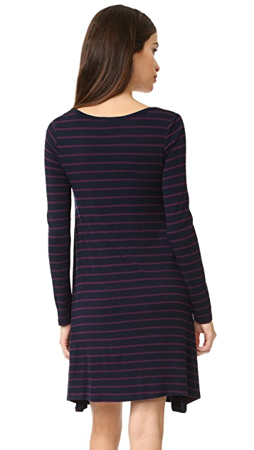 Ingrid & Isabel Long Sleeve Maternity Trapeze Dress