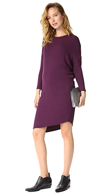 Ingrid & Isabel Long Sleeve Circle Tee Dress