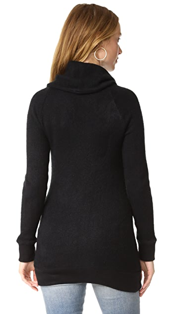 Ingrid & Isabel Cowl Neck Maternity Sweater