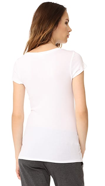 Ingrid & Isabel Short Sleeve V Neck Tee