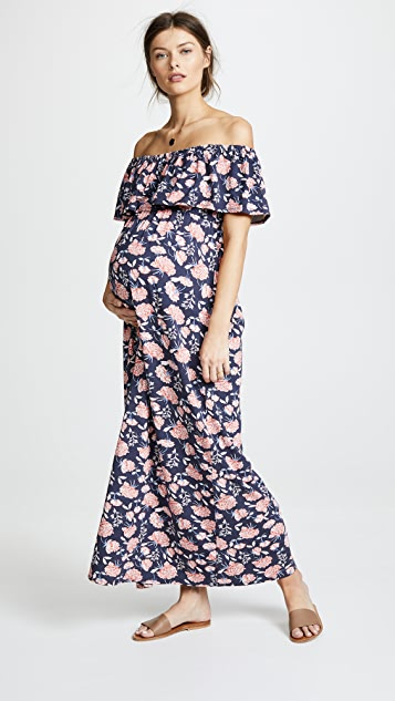 Ingrid & Isabel Off Shoulder Maxi Dress
