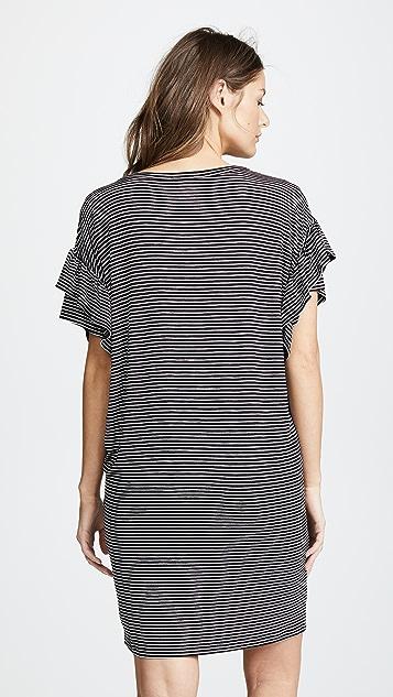 Ingrid & Isabel Ruffle Sleeve T-Shirt Dress