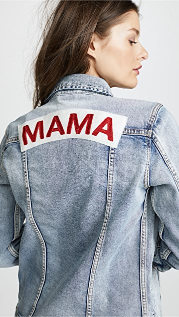 Ingrid & Isabel Mama Denim Jacket