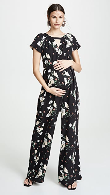 Ingrid & Isabel Adjustable Waist Jumpsuit
