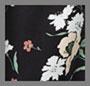 黑色艺术花卉