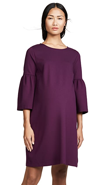 Ingrid & Isabel Ponte Bell Sleeve Dress