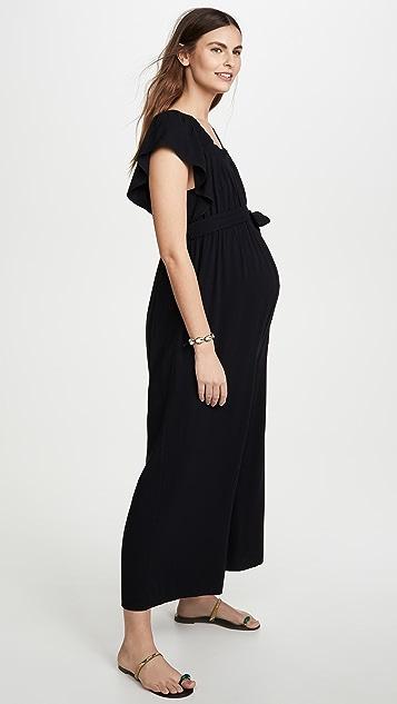 Ingrid & Isabel Wide Leg Maternity Jumpsuit