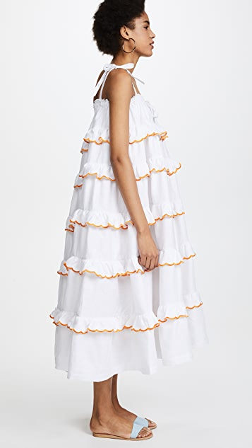 Innika Choo Layered Frill Dress