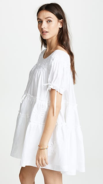 Innika Choo Mini Smock Collar Dress