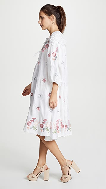 Innika Choo Midi Smock Dress