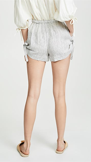 Innika Choo Stripe Shorts