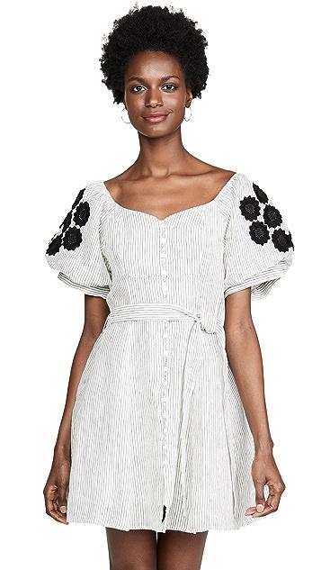 Innika Choo Embroidered Dress