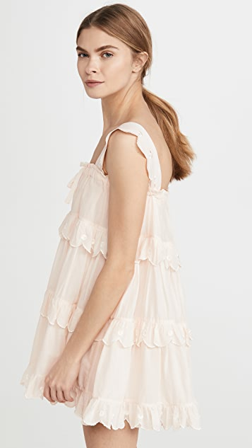 Innika Choo Scallop Iva Dress