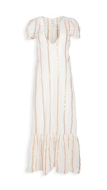 Innika Choo Sheer Maxi Dress