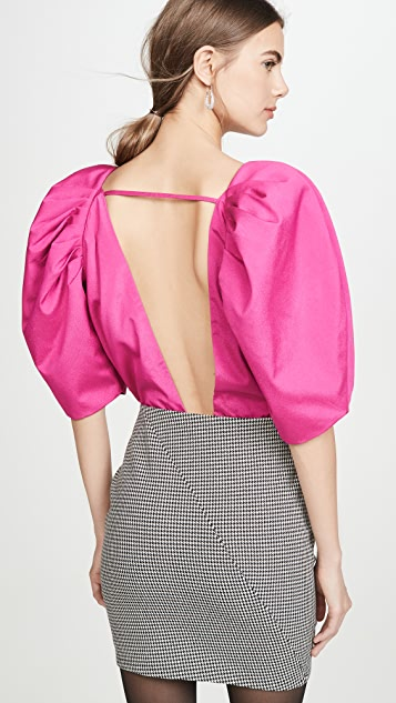 IORANE Puff Sleeve Bodysuit