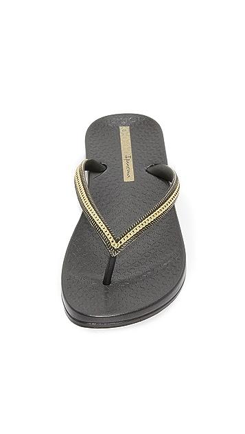 Ipanema Ana Metallic II Flip Flops