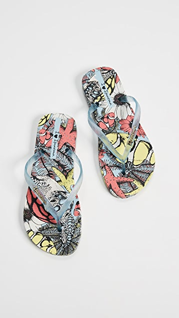 Ipanema Beauty Print Flip Flops