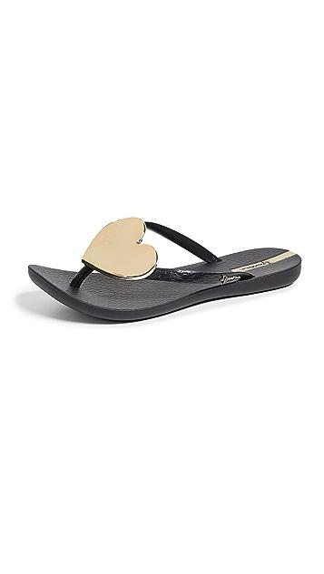 Ipanema 活力心形装饰夹趾凉鞋