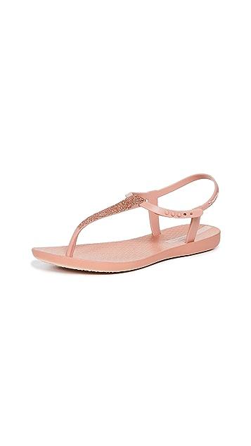 Ipanema Shimmer T-Strap Sandals