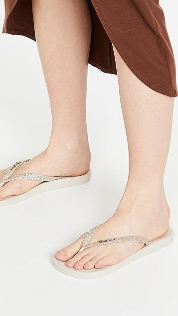 Ipanema Ana Sparkle 夹趾凉鞋