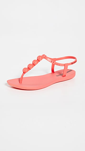 Ipanema Pearl II T 型带凉鞋
