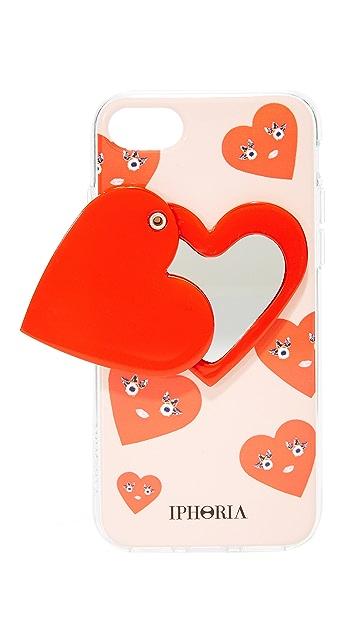 Iphoria Cute Hearts iPhone 7 Case