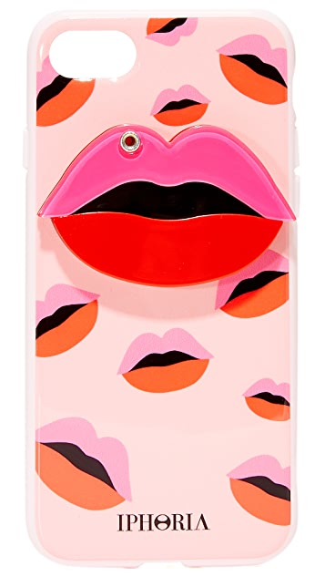 Iphoria Kissing Lips iPhone 7 Case
